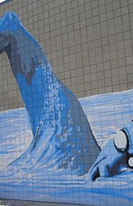 Mural Aquatic Bob Hernandez