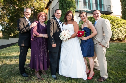 And the family grows! Papa and Mama, Tim, Casey, Sarah and Kerry